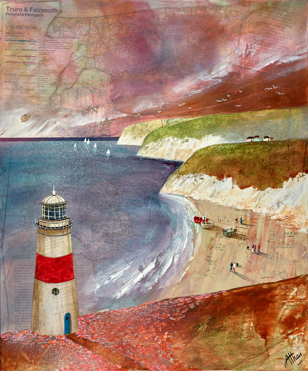 Lighthouse Cove by keith athay -  sized 20x24 inches. Available from Whitewall Galleries